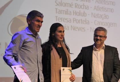 Valença: Inês Fernandes homenageada nos Troféus «O Minhoto» - Autarquia orgulhosa da atleta