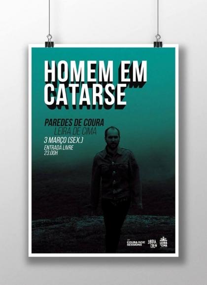 Paredes de Coura: «Homem em Catarse» atua na Leira de Cima no próximo dia 3 de março