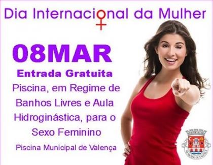 Valença celebra Dia da Mulher com entrada grátis para elas na Piscina