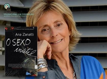 Monção: Ana Zanatti vai estar na Biblioteca Municipal na sexta-feira
