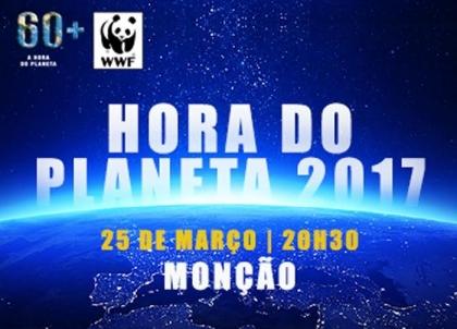 Monção associa-se à «Hora do Planeta»