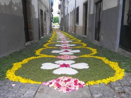 Monção em contagem decrescente para os tapetes floridos