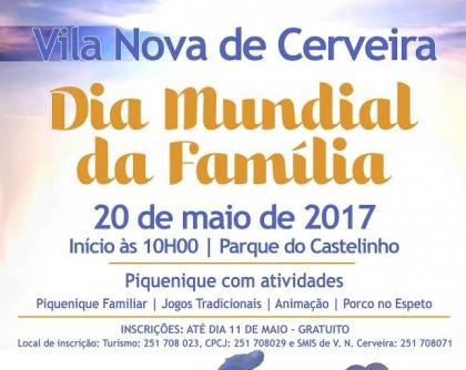 Vila Nova de Cerveira celebra Dia da Família a 20 de maio
