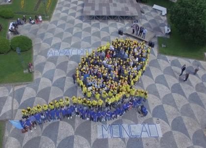 Monção/APPACDM: Mais de 300 pessoas criaram logótipo humano