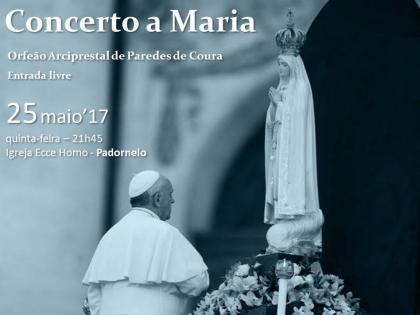 Paredes de Coura: Orfeão Arciprestal realiza Concerto a Maria na próxima quinta-feira