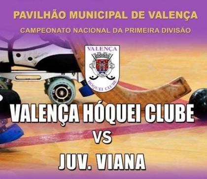 Valença Hóquei Clube e Juventude de Viana medem forças no próximo sábado