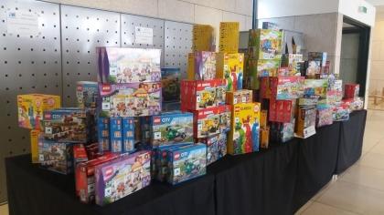 Paredes de Coura: Instituição inglesa ofereceu legos às crianças mais carenciadas do concelho
