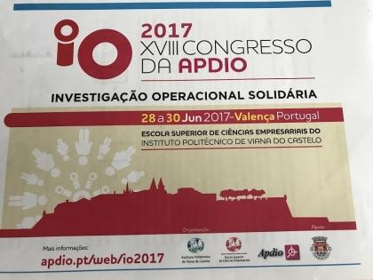 Valença: ESCE acolhe XVIII Congresso da APDIO entre 28 e 30 de junho