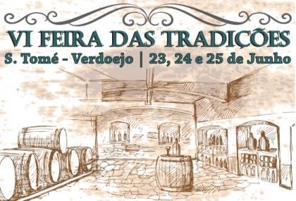 Valença: Verdoejo recebe VI Feira das Tradições entre 23 e 25 de junho
