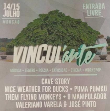 Monção: Festival «Vincul arte» realiza-se a 14 e 15 de julho