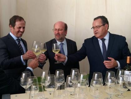 Monção: Ministro do Ambiente completamente rendido à Feira do Alvarinho