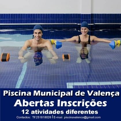 Valença/Piscina Municipal: Inscrições para novos utentes abrem esta sexta-feira