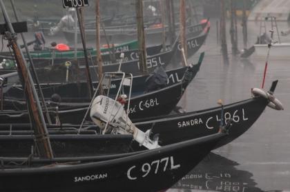 Falta de chuva deixa pescadores tradicionais de lampreia em terra