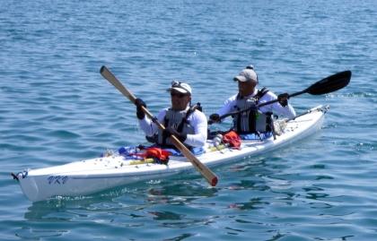 Descida de Kayak promove o rio Coura como um dos menos poluídos da Europa