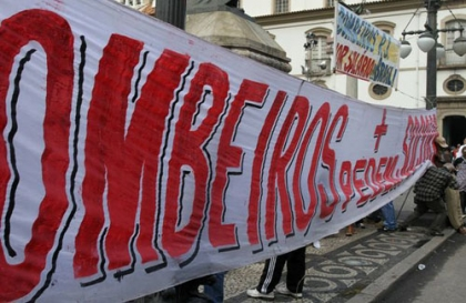 Bombeiros Municipais iniciam greve de quatro dias durante a romaria d'Agonia