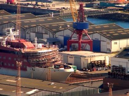 Construção do segundo navio patrulha retomada nas próximas semanas - ministério da Defesa