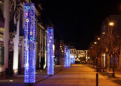 Iluminação de Natal com verba reduzida a um terço face a 2010