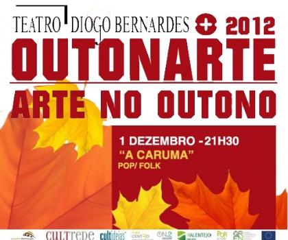 'A Caruma' vai preencher o Teatro Diogo Bernardes com música pop e folk