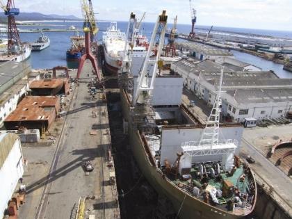 Estaleiros negoceiam contratação de trabalho temporário para dois anos