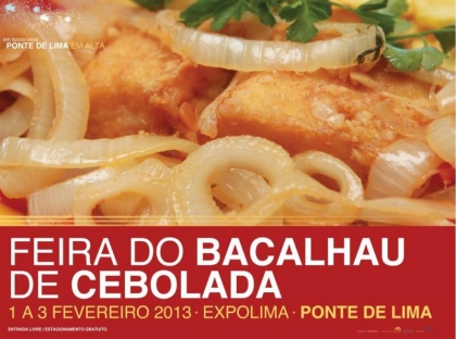 Ponte de Lima promove Feira do Bacalhau de Cebolada este fim-de-semana