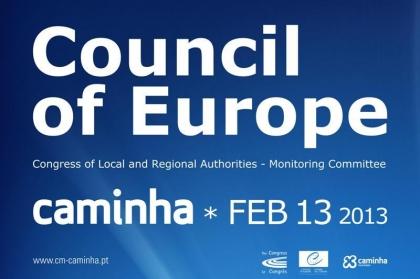 Vila acolhe reunião do Conselho da Europa