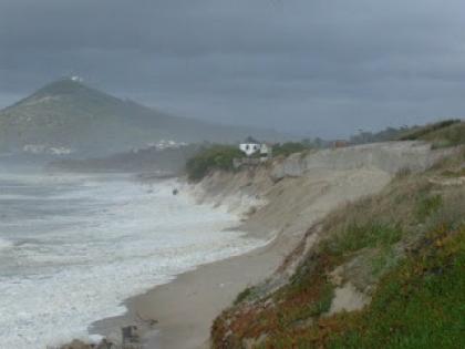 Recuperação da duna de Moledo adiada para setembro