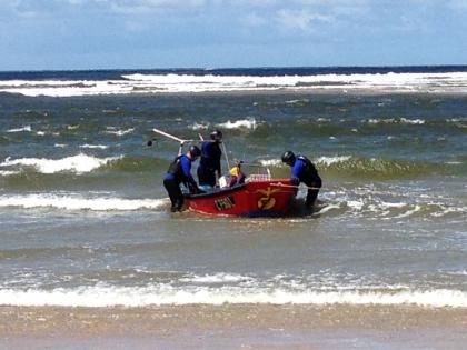 Pescador desaparecido em Moledo