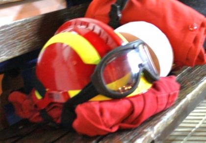 Bombeiro ferido durante combate a incêndio fraturou duas costelas