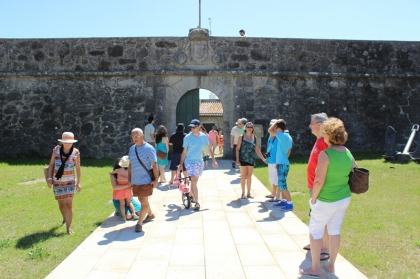 Forte da Lagarteira recebe exposição sobre pesca