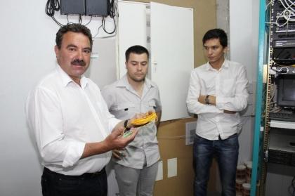 Área Empresarial da Gelfa já tem rede de fibra ótica
