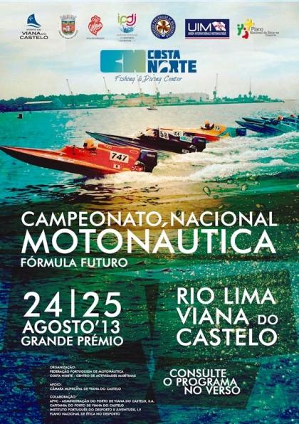 Campeonato Nacional de Motonáutica no estuário do Rio Lima