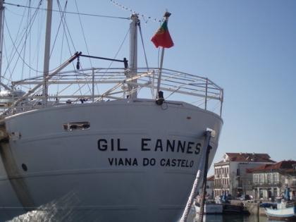 Navio Gil Eannes bateu recorde de visitas nas Festas D'Agonia 2013