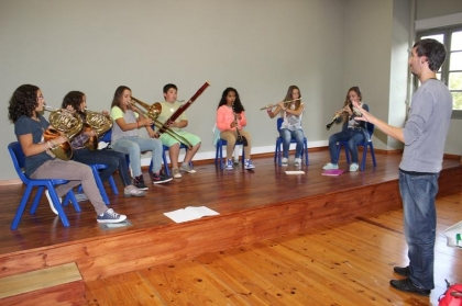 "Novo polo da AMFF vai receber iniciativas ""Música para todos"" e ""Música para bebés"""