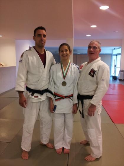 Jucaminha conquista medalhas de ouro e de bronze nos campeonatos de Judo