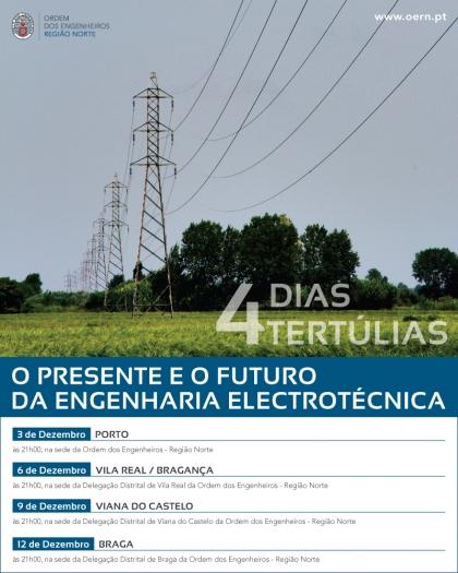 Engenheiros discutem presente e futuro da Engenharia Eletrotécnica. Viana recebe sessão
