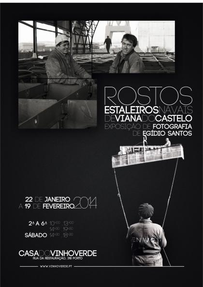 ENVC: Exposição de fotografia de Egídio Santos na Casa do Vinho Verde