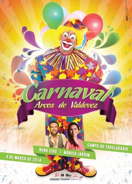 Carnaval dos Arcos promete encher as ruas do concelho