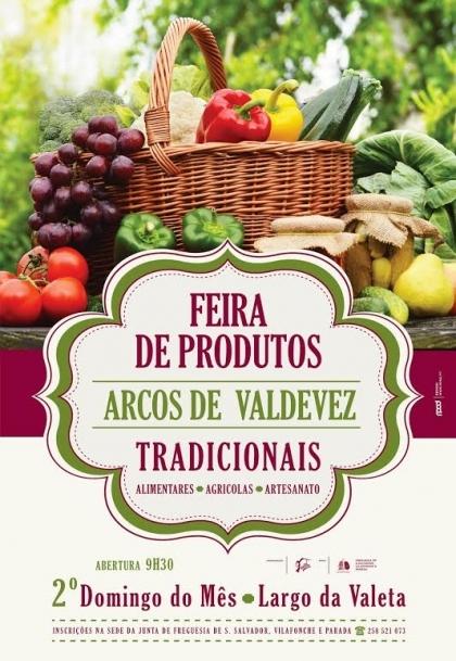 Largo da Valeta recebe este domingo Feira de Produtos Tradicionais