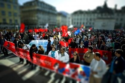 Sindicatos saem hoje à rua em protesto contra políticas do Governo
