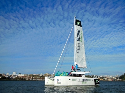 Catamarã Muscat promete dinamizar economia local