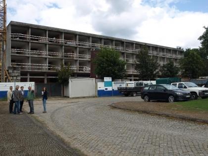 Obras do Hotel dos Arcos já foram retomadas