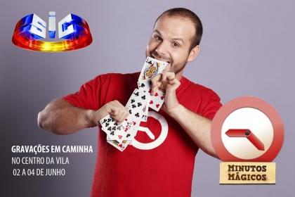 SIC vai gravar programa de magia em Caminha na próxima terça-feira