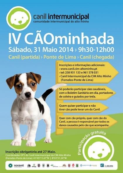 Ponte de Lima recebe este sábado IV edição da Cãominhada