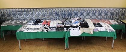 Âncora: GNR recupera vestuário roubado avaliado em mais de cinco mil euros
