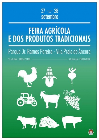 Vila Praia de Âncora acolhe Feira Agrícola nos dias 27 e 28 de Setembro