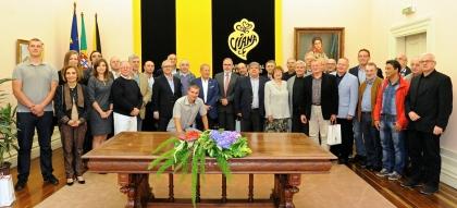 Viana: José Maria Costa recebeu grupo de reitores polacos na Câmara Municipal