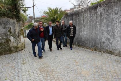 Caminha: Miguel Alves visitou obras que estão a transformar Seixas