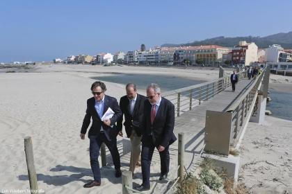 Caminha: Executivo Municipal visitou Foz do rio Âncora
