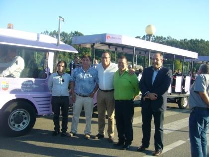 Monção/Salvaterra: Autarcas inauguraram combóio turístico de verão