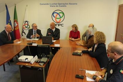 Viana: Eixo Atlântico e RIET receberam visita da Comissão Europeia